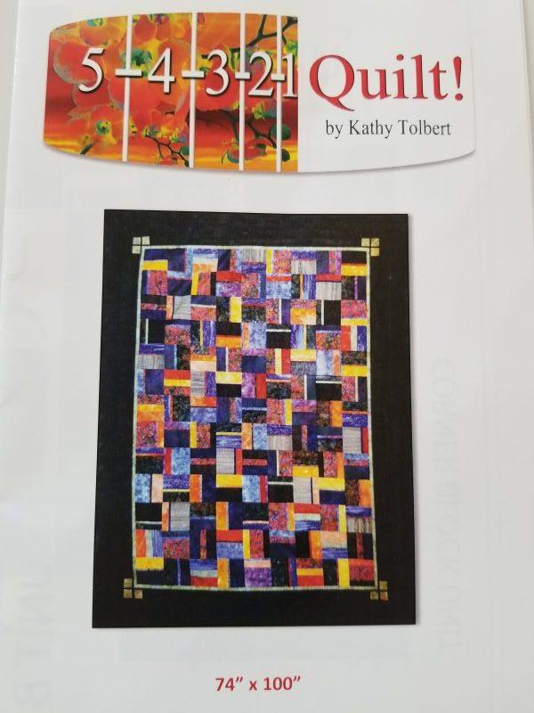 5 4 3 2 1 Quilt By Kathy Tolbert Patchwork Phoenix